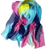 ABC Women's Scarf, Women's Fashion Chinese Ink Style Chiffon Scarf Wrap Shawl Scarves