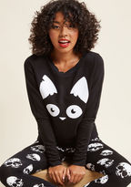ModCloth Are Mew Afraid of the Dark? Pullover in 4X