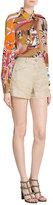 Etro Silk-Jute Shorts