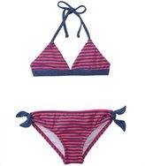 Splendid Girls' Malibu Stripe Tankini Two Piece Set (4yrs6X) - 8140957