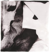 Ann Demeulemeester dog print scarf