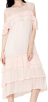 Ghost Sinead Dress, Pale Pink