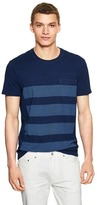 Gap 1969 indigo striped T-shirt