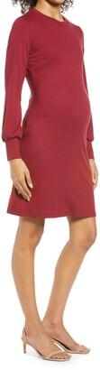 Savi Mom Sochi Long Sleeve Maternity Dress