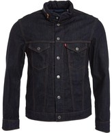 Levi's CM Trucker Hooded Jacket Indigo Denim Eco