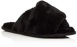 Sorel Women's Hadley Faux-Fur Slide Slippers