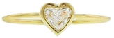 Jennifer Meyer Heart Shaped Diamond Ring