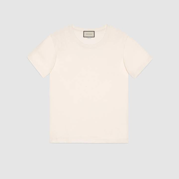 Gucci Oversize T-shirt with stamp