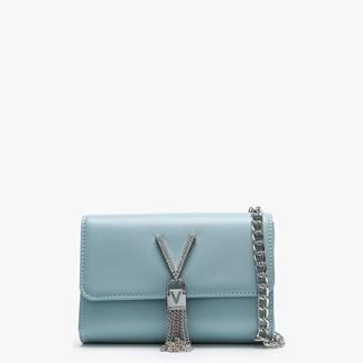 Valentino Handbags Ranma Turquoise Diamante Embellished Shoulder Bag
