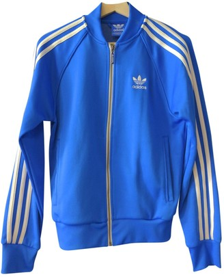 adidas Blue Synthetic Jackets