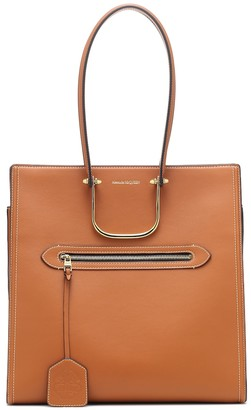 Alexander McQueen Tall Story leather tote