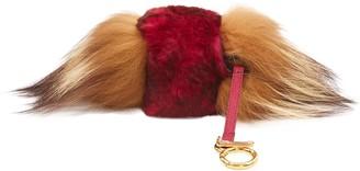 Fendi Beige Fox Bag charms