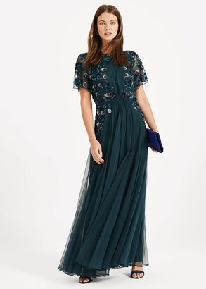 Phase Eight Arlette Beaded Maxi Dress