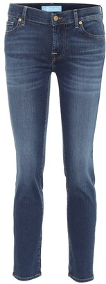 7 For All Mankind Roxanne B(AIR) mid-rise slim jeans