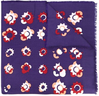 Fendi Flowerland print scarf