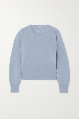Stella McCartney Ribbed Cashmere And Wool-blend Sweater
