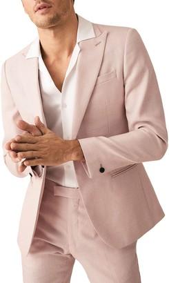 Reiss Melody Peak Collar Single Button Jacket