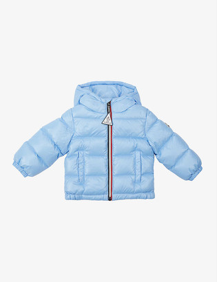 Moncler Aubert hooded shell-down puffer jacket 3-36 months