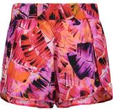 Matthew Williamson Petal Printed Silk-Crepe Shorts