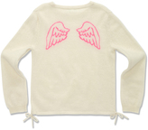Marie Chantal GirlsAngel Wing Intarsia Sweater