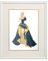 The Well Appointed House Barbie Couture Series Framed Girls Wall Art: Glamour