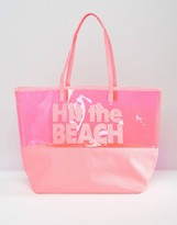 South Beach Hit the Beach Tote Bag