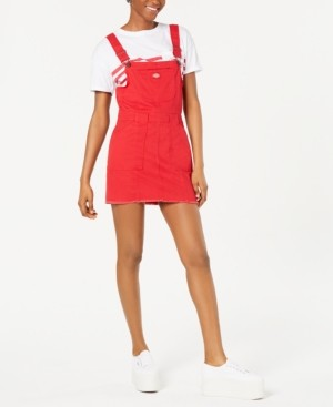 Dickies Juniors' Overall Mini Dress