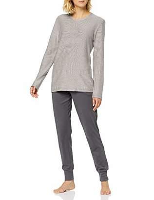 Schiesser Women's Anzug Lang Pyjama Sets,(Size: 042)