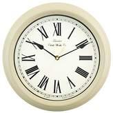 Towcester Clock Works Co. Acctim 26702 Redbourn Wall Clock, Cream