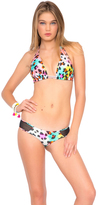 Luli Fama Salty Skin D/DD Cup Triangle Halter In Multicolor (L459073)