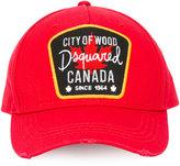 DSQUARED2 City of Wood baseball cap - men - Cotton - One Size