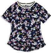 Splendid Girls' Floral & Striped Top - Big Kid