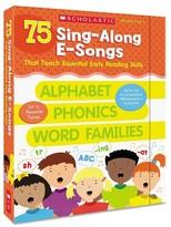Scholastic Sing-Along E-Songs, Grades Pre K-2