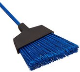 b-ROOM O-Cedar Commercial Maxi Clean Large Angle Broom, Blue