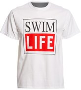 AMBRO Manufacturing Men's Short Sleeve Swim Life Swim Tee Shirt 8147908