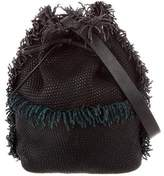 Tamara Mellon Fringe Bucket Bag