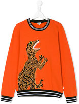 Paul Smith teen printed sweatshirt