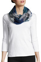 Lord & Taylor Colorblocked Paisley Scarf