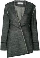 Pringle asymmetric distressed jaket