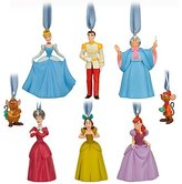 Disney Classic Cinderella Ornament Set -- 8-pc.