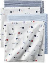 Carter's 4-Pk. Sports-Print Blankets, Baby Boys (0-24 months)