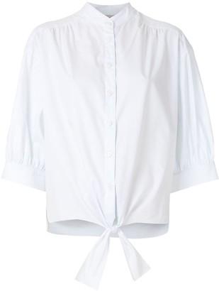 Egrey Tie Waist Shirt