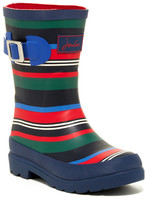 Joules Stripe Welly Rainboot (Little Kid)