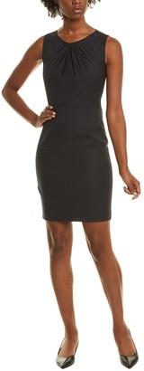 Elie Tahari Rosario Wool-Blend Sheath Dress