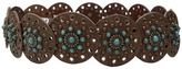Nocona M&F Western Wide Concho Disk Belt