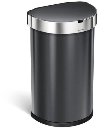 Simplehuman Semi-Round Sensor Bin (45L)