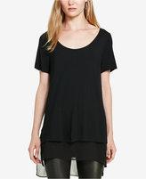 Polo Ralph Lauren Georgette-Trim Jersey T-Shirt