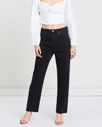 Articles of Society High Jaynee Straight Leg Jeans