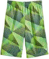 Champion Abstract-Print Mesh Shorts, Little Boys (4-7)