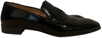 Christian Louboutin Black Patent leather Flats